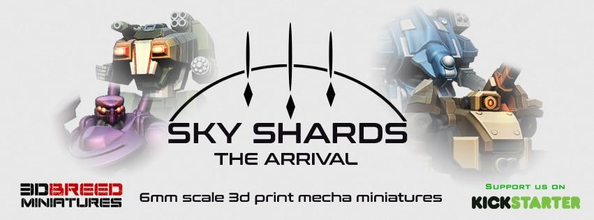 Skyshards Kickstarter