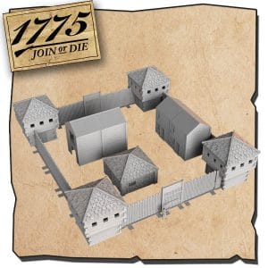 FORT FISHERMAN <br/> 3D printable terrain model