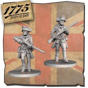 Imagen de Miniaturas LOYALIST SOLDIERS.