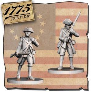 Imagen de Miniatura frontal CONTINENTAL SOLDIERS
