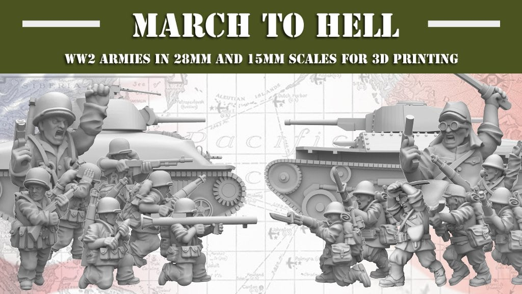 New Kickstarter campaign is about to start: 'March to Hell'