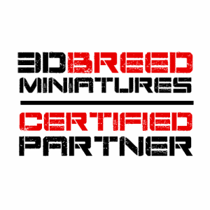 3d breed miniatures certified partner logo