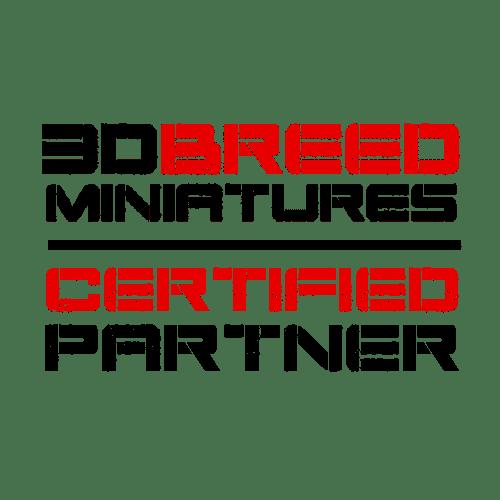 3d breed miniatures certified partner logo