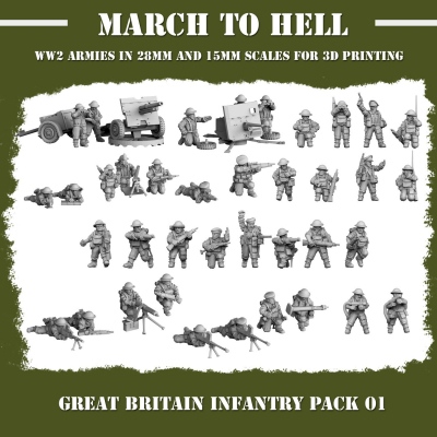 British Army INFANTRY PACK