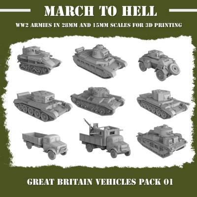 British Army VEHICLES PACK