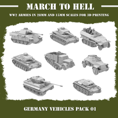 German Army (Wehrmacht) VEHICLES PACK
