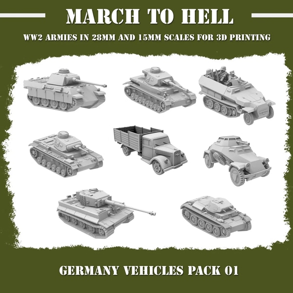 GERMANY VEHICLES PACK 02