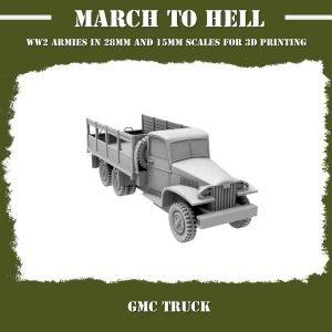 GMC TRUCK 3d Printed