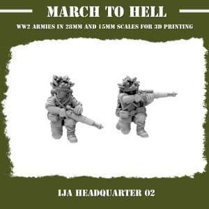IJA Snipers 3d printed