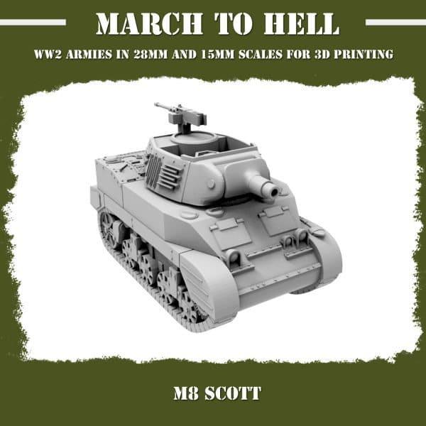 M8 scott 3d printed