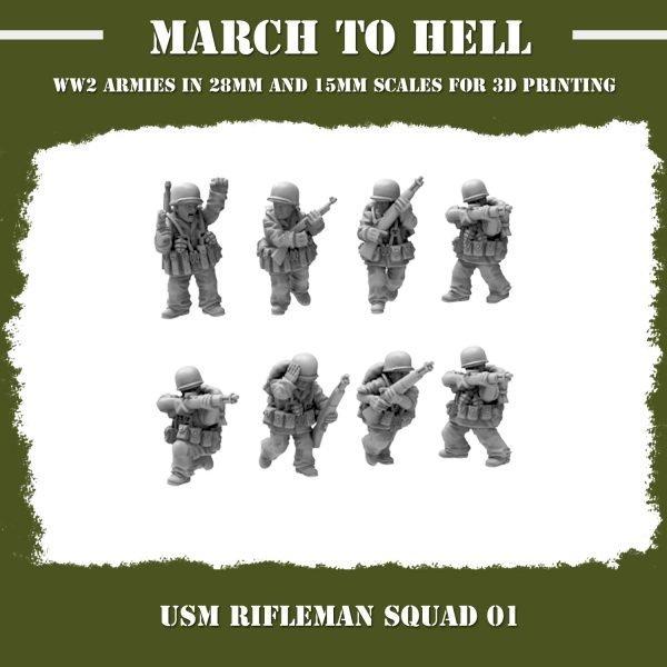 USM Rifleman Squad 01