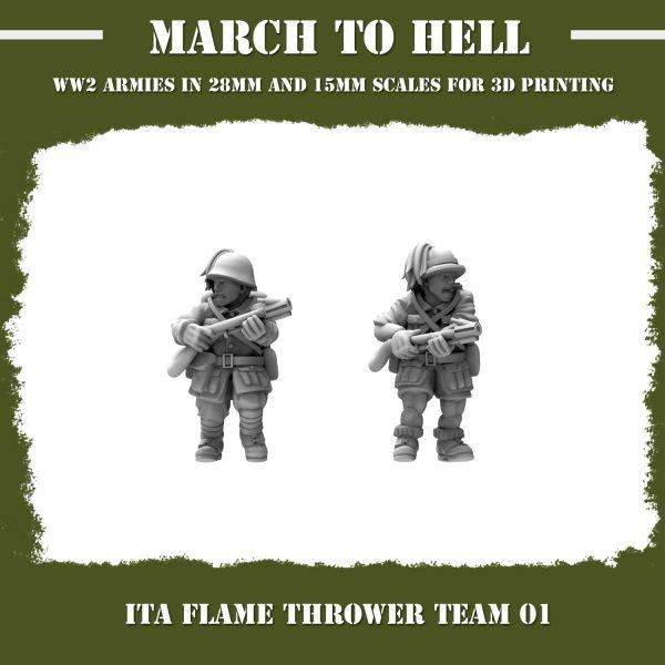ITA FLAME THROWER 01 3d printed miniatures