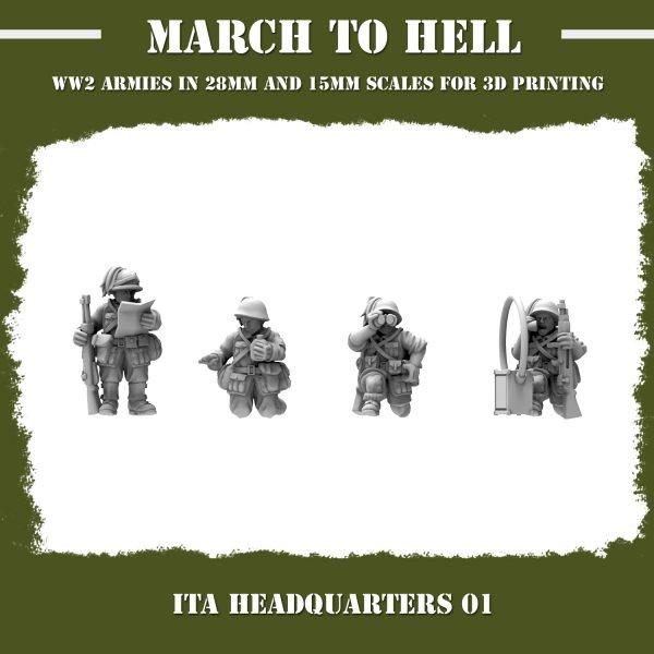 ITA_HEADQUARTERS 01 3d printed miniatures