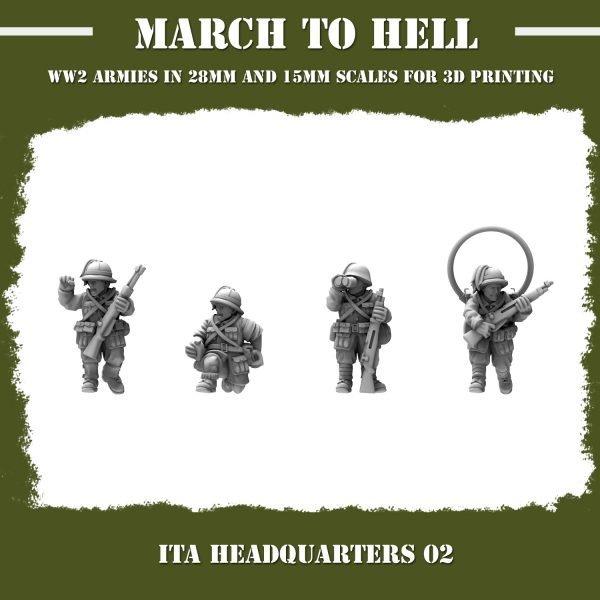 ITA_HEADQUARTERS 02 3d printed miniatures