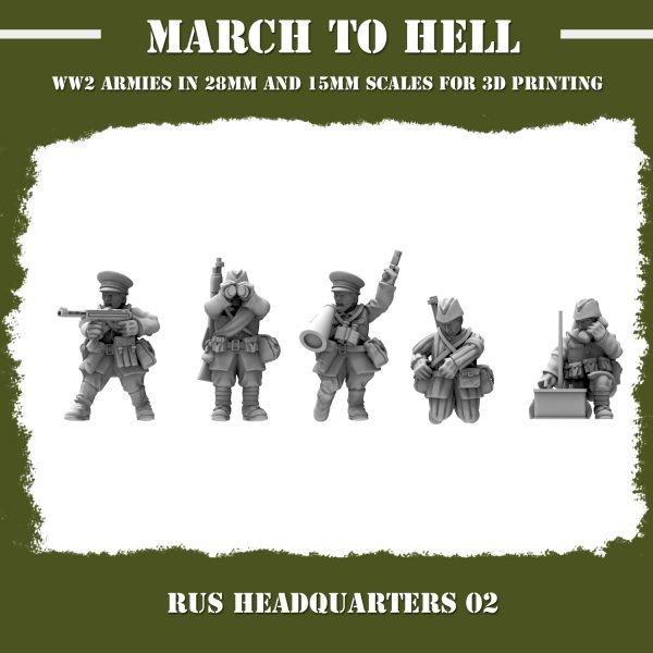 RUS_HEADQUARTERS 02 3d printed miniatures