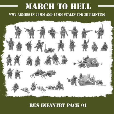Red Army INFANTRY PACK