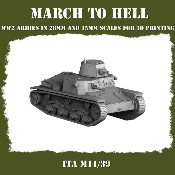 M11_39 01 3d printed tank
