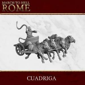 Roman Games CUADRIGA 3d printed miniatures