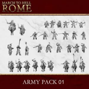 CELTS CELT ARMY PACK 01 3d printed miniatures