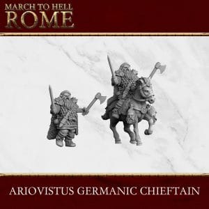 GERMANIC TRIBES ARIOVISTUS 3d printed miniatures