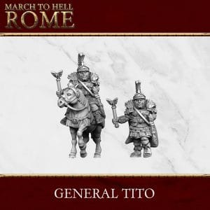 Imperial Rome Army ROMAN GENERAL TITO 3d printed miniature