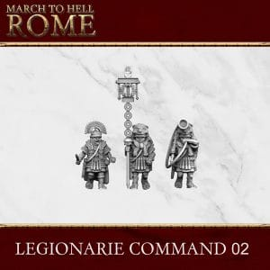Imperial Rome Army LEGIONARIE COMMAND 02 3d printed miniature