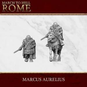Imperial Rome Army MARCUS AURELIUS 3d printed miniature