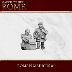 Imperial Rome Army MEDICUS 01 3d printed miniatures