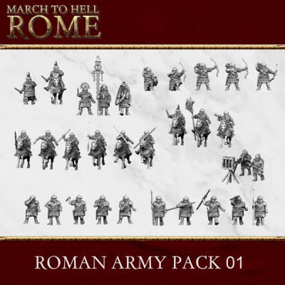 Imperial Rome Army ROMAN ARMY PACK 01