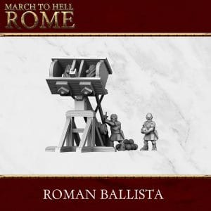 Imperial Rome Army ROMAN BALLISTA 3d printed