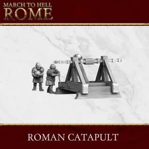 Imperial Rome Army ROMAN CATAPULT 3d printed