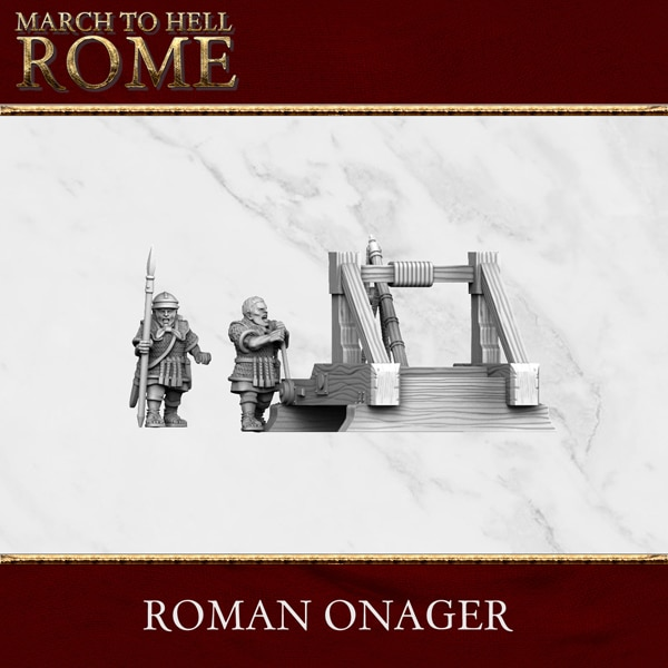 Imperial Rome Army ROMAN ONAGER 3d printed