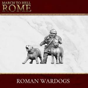 Imperial Rome Army ROMAN WARDOGS 3d printed