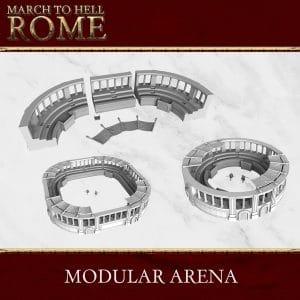 Roman Games ROMAN ARENA 3d printed