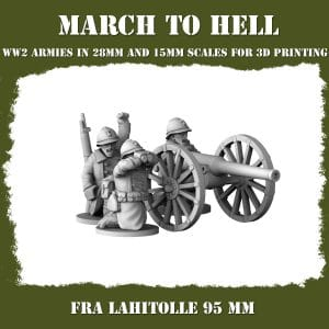 FRA Lahitolle 95 mm 3d printed miniatures