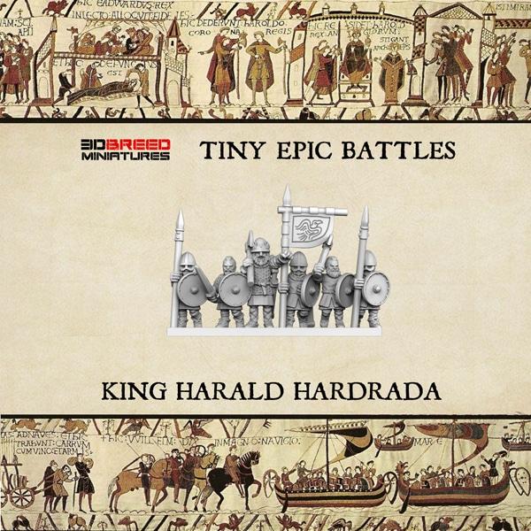 KING HARALD HARDRADA 3d printed miniatures