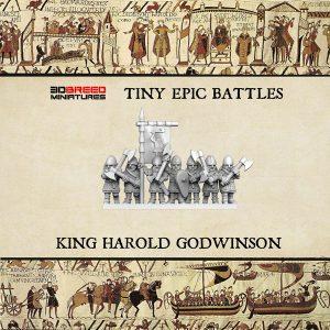SAXON KING HAROLD GODWINSON 3d printed miniatures