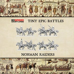NORMAN RIDERS 3d printed miniatures