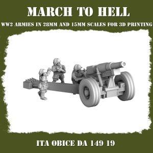 OBICE DA 149 19 3d printed miniatures