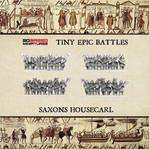 SAXONS HOUSECARL 3d printed miniatures
