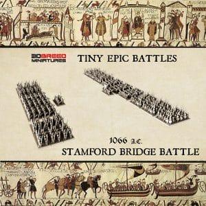 Stamford Bridge EPIC BATTLES 3d miniatures