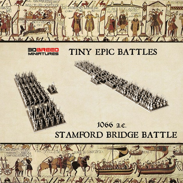 Stamford Bridge EPIC BATTLES 3d miniatures