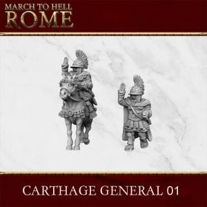 CARTHAGE GENERAL 01 3d printed miniature
