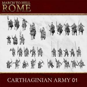 CARTHAGINIAN ARMY 01 3d printed miniatures