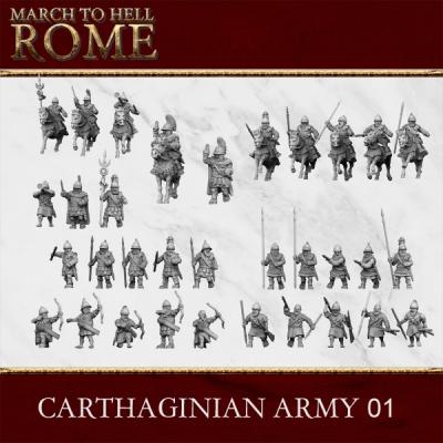 Carthaginian Army CARTHAGINIAN ARMY