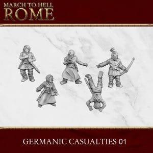 GERMANIC CASUALTIES3d printed miniatures