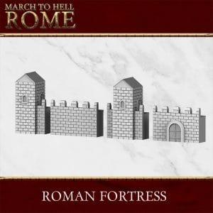 ROMAN FORTRESS 3d printed terrain