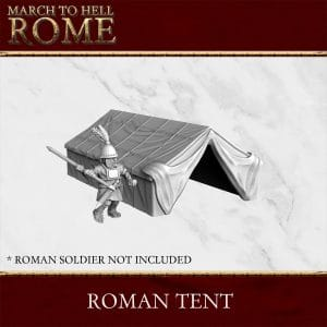 ROMAN TENT 3d printed terrain
