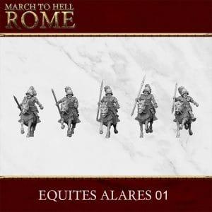 ROMAN REPUBLIC EQUITES ALARES 01 3d printed miniatures