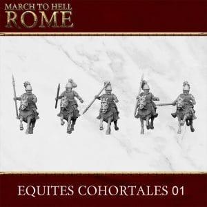 ROMAN REPUBLIC EQUITES COHORTALES 01 3d printed miniatures
